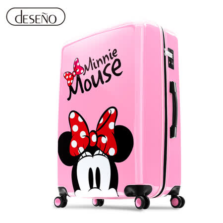 Disney 米奇奇幻之旅 20吋PC鏡面拉鍊箱