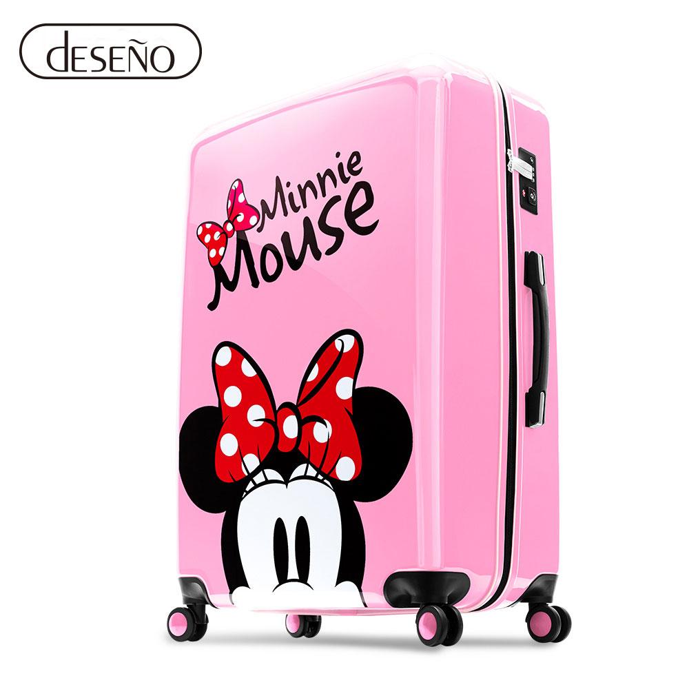 Disney 米奇奇幻之旅20吋PC鏡面拉鍊箱(任選)