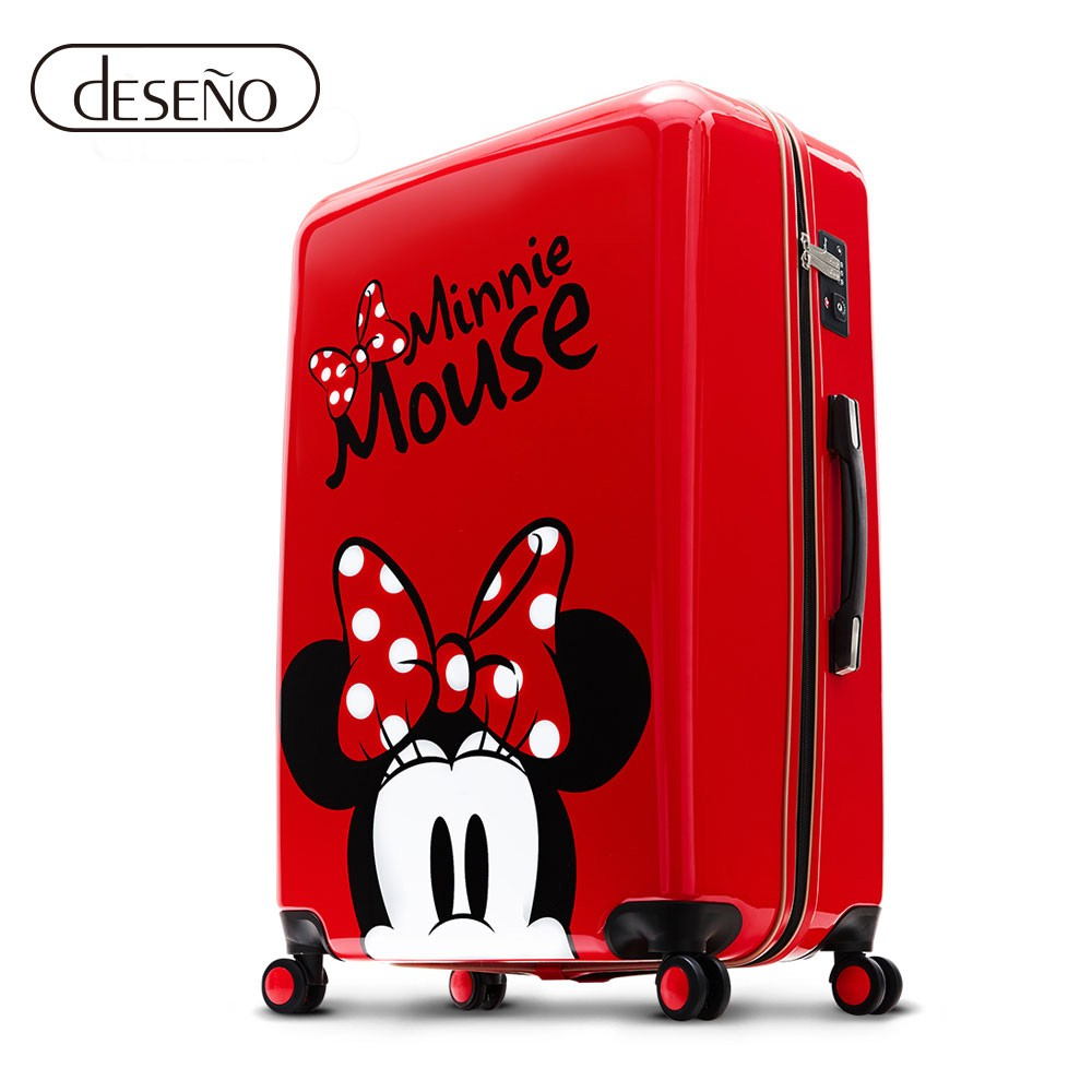 Disney 米奇奇幻之旅24吋PC鏡面拉鍊箱(任選)
