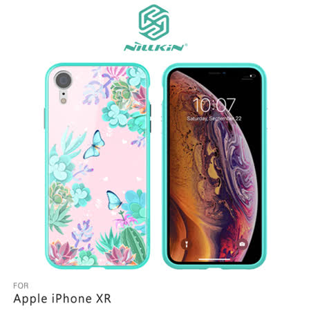 NILLKIN Apple iPhone XR 玉蝶玻璃手機殼
