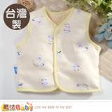 魔法Baby 嬰幼兒外套 台灣製厚款兩面穿絨毛背心外套 b0120