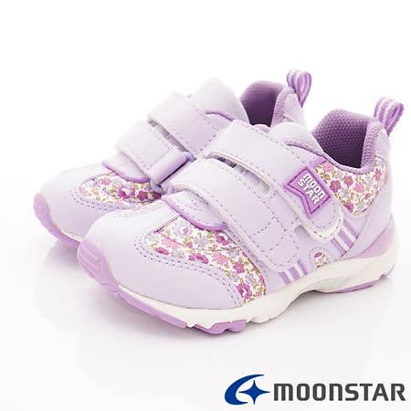 日本Carrot 碎花穩定機能童鞋