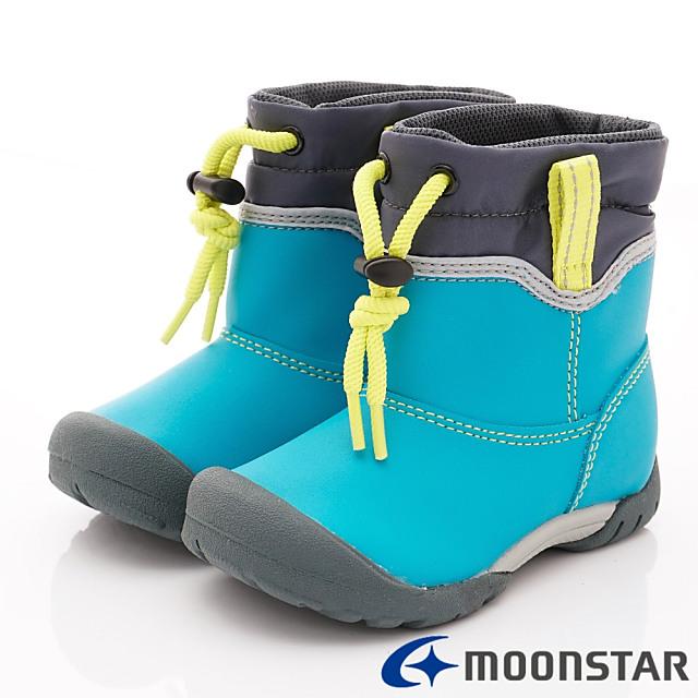 日本Carrot機能童鞋-速乾機能雨鞋款-C22101藍綠-16-19cm