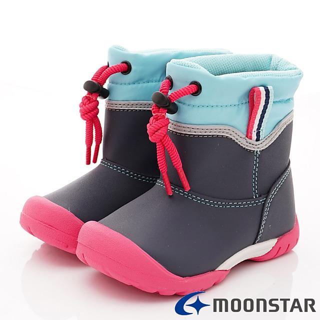 日本Carrot機能童鞋-速乾機能雨鞋款-C22105深藍-16-19cm