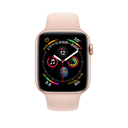 Apple Watch S4 GPS+行動網路 44 mm