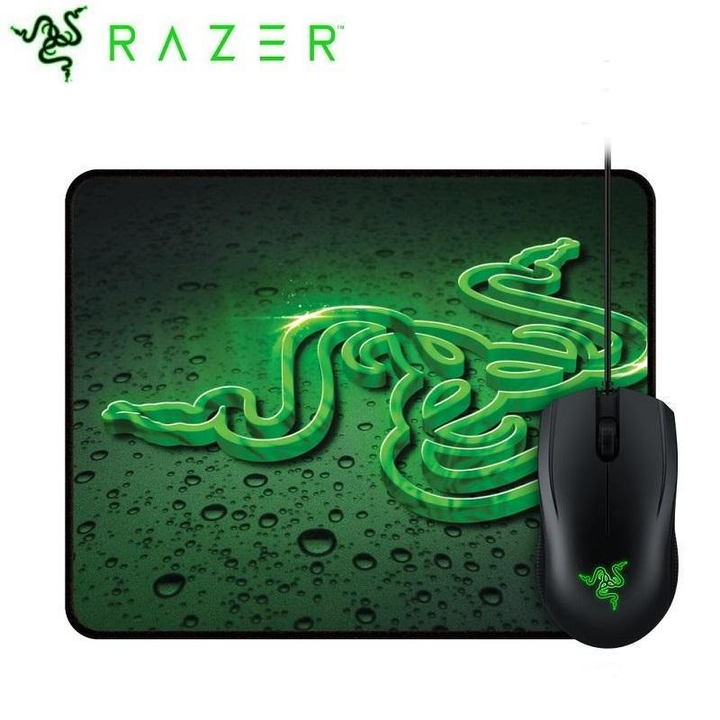 [限定下殺] Razer 雷蛇 Abyssus 地獄狂蛇2000dpi+鼠墊 電競滑鼠