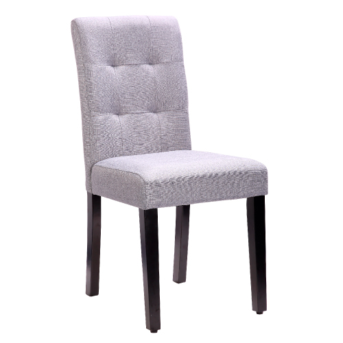 AS-雪麗胡桃灰色布餐椅-42x54x91cm