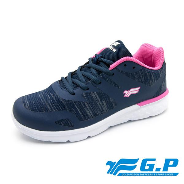 【G.P 女款城市樂活輕量舒適運動鞋】P5860W-20 藍色 (SIZE:36-40 共二色)
