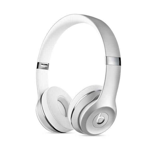 Beats Solo 3 Wireless 無線頭戴式耳機-霧銀