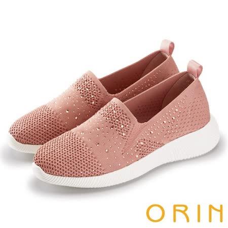 【ORIN】 閃閃魅力燙鑽平底便鞋