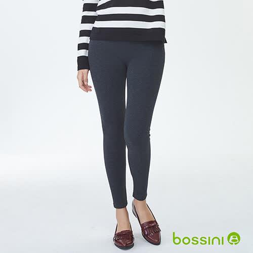 bossini女裝-素色刷毛貼身褲01灰(品特)