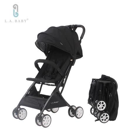美國 L.A. Baby 隨行迷你嬰兒手推車