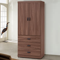 Homelike-達倫3x7衣櫃