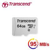 創見 microSDXC 64GB UHS-I Class 10 300s記憶卡(95MB) 公司貨