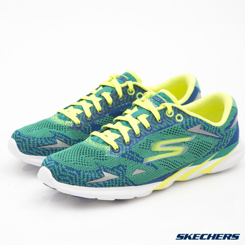 SKECHERS (女) 跑步系列 Go MEB Speed 3 - 14100TEAL