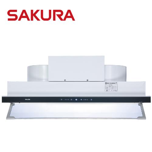 【促銷】SAKURA櫻花 90CM 渦輪變頻觸控隱藏型除油煙機 DR-3592AXL 送安裝(北北基)