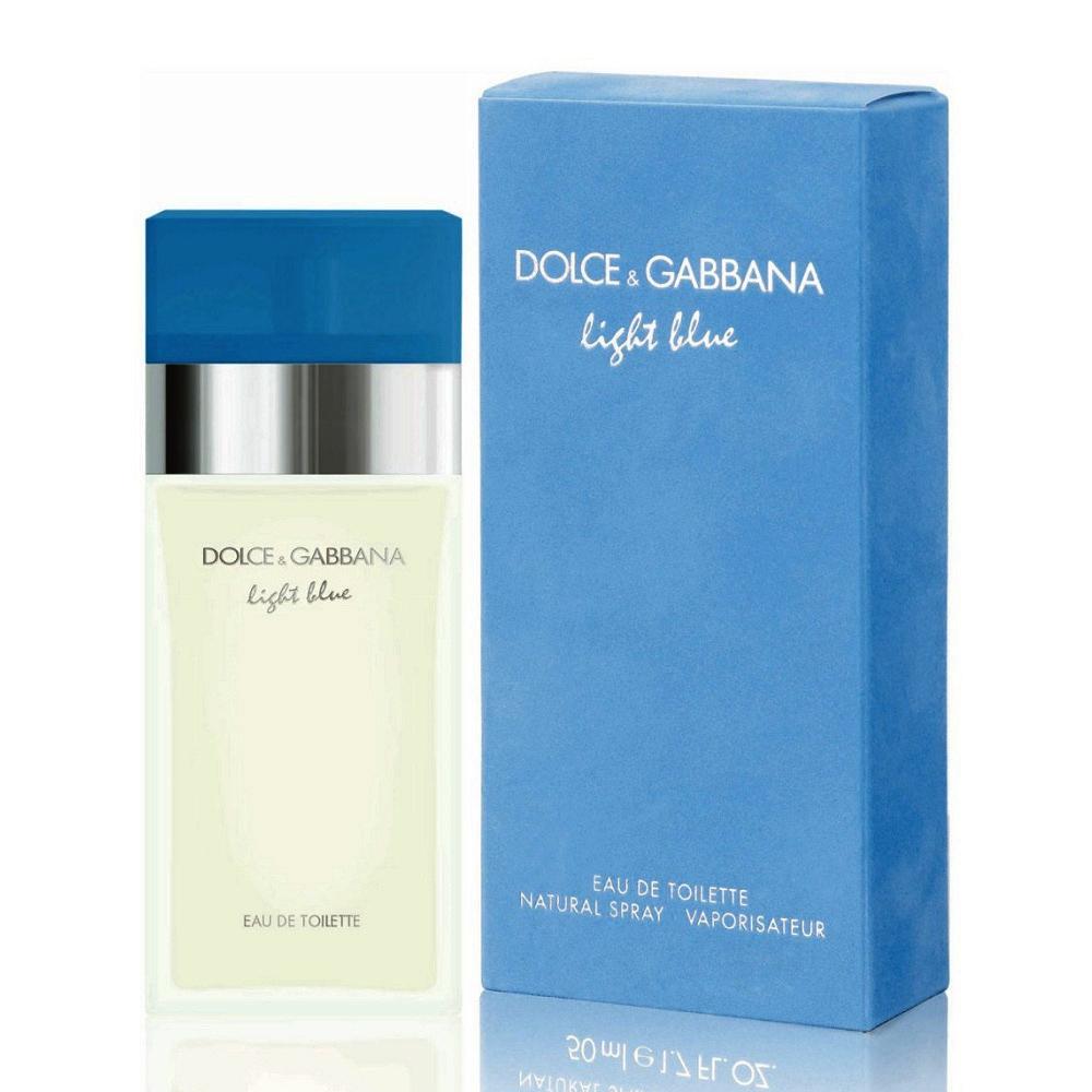 Dolce  Gabbana D G Light Blue 淺藍女性淡香水 50ml