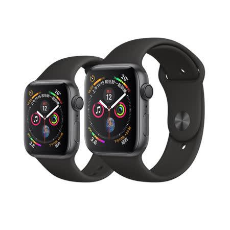 Apple Watch S4 GPS版 太空灰配黑錶帶 40mm