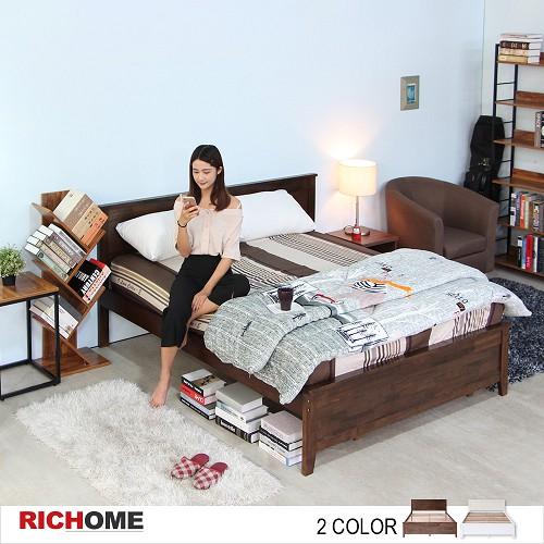 【RICHOME】北歐浪漫5呎雙人床架(不含床墊)-2色