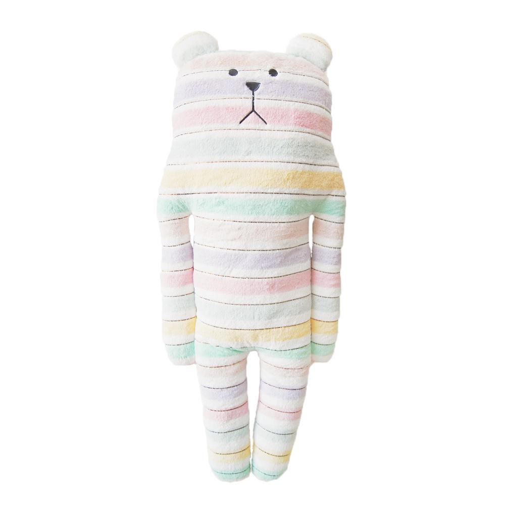 CRAFTHOLIC 宇宙人 花俏緞帶熊大抱枕