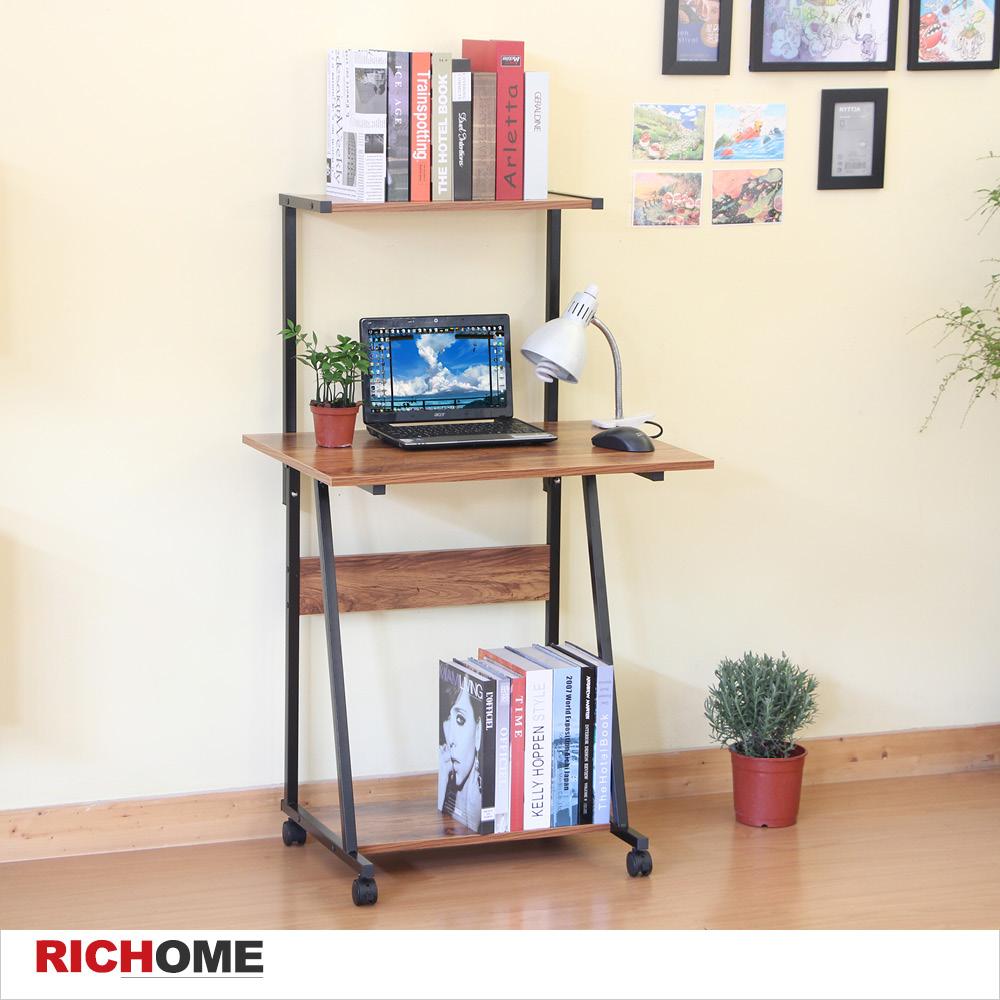 【RICHOME】LINCON大衛經典電腦桌