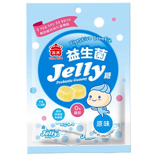義美益生菌Jelly糖-原味64g