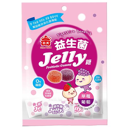義美益生菌Jelly糖-綜合64g