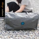 珠友 HM-20001 行李箱提袋(L)/插桿式兩用提袋/肩背包/旅行袋/附背帶-Konigin