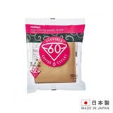 HARIO 日本製造 咖啡濾紙1-4杯用 VCF-02-100M-100入