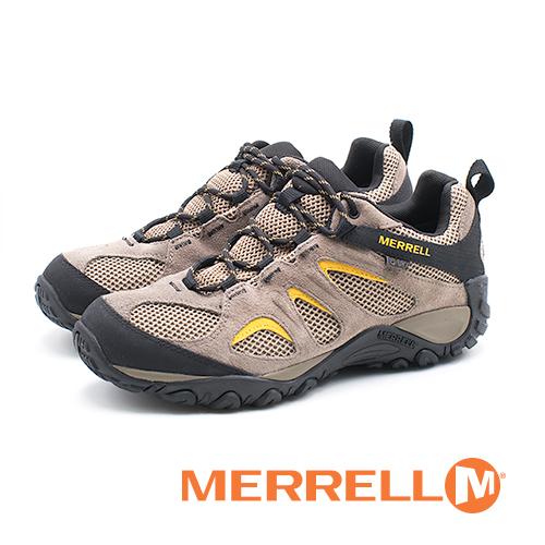 MERRELL 防水健行遠足鞋 男鞋 - 卡其 (另有橄欖綠)