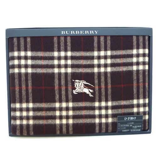 BURBERRY經典戰馬披巾禮盒_咖啡