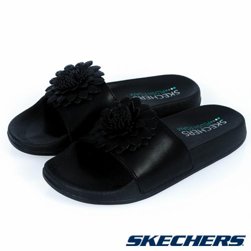 SKECHERS (女) 時尚休閒系列 POP UPS - 32374BBK