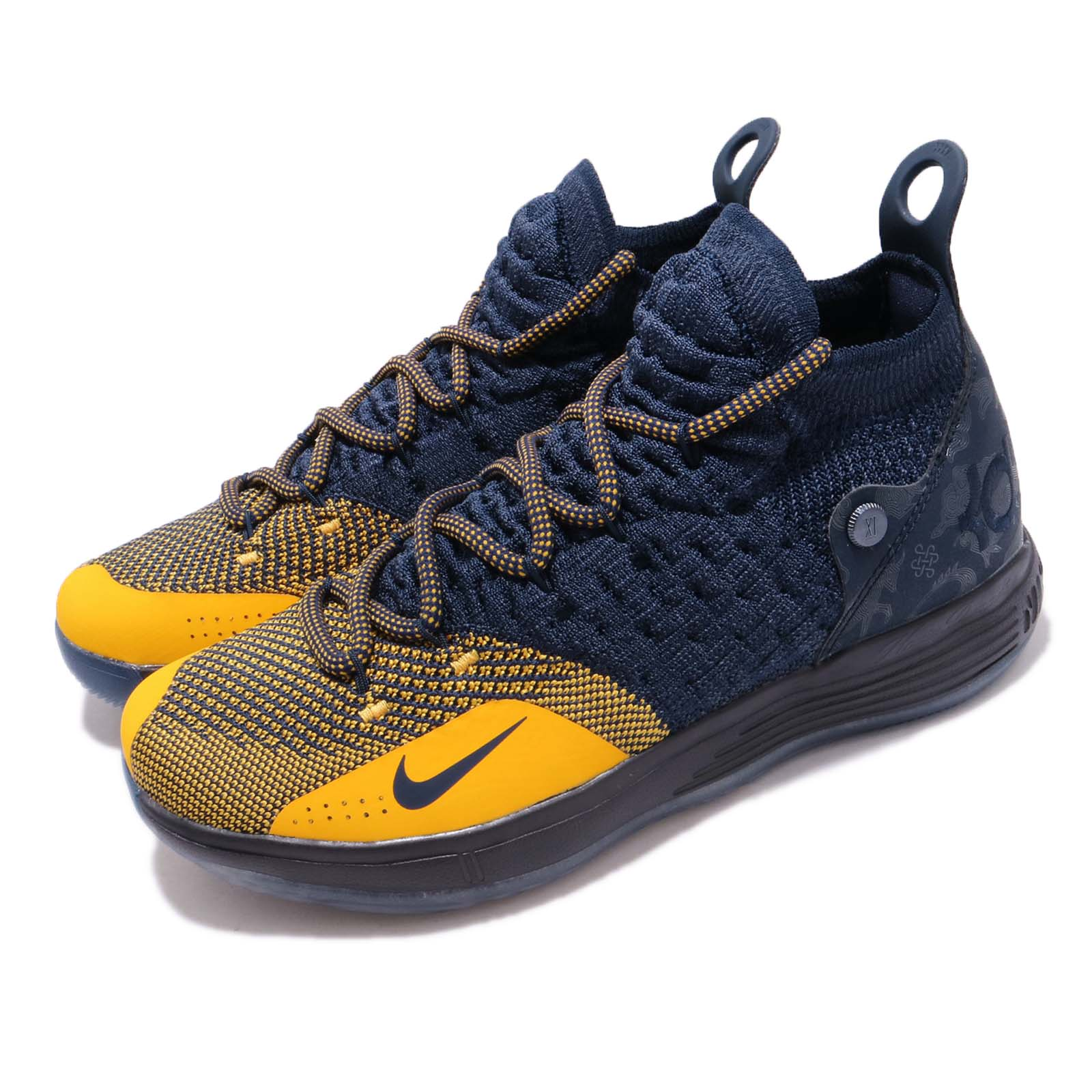Nike 籃球鞋 KD 11 襪套 運動 女鞋 AH3465-400