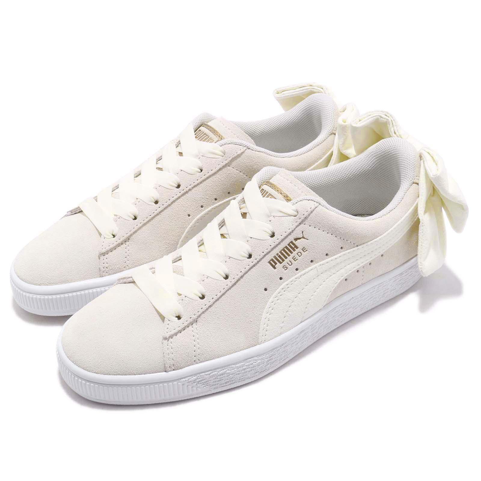 Puma 休閒鞋 Suede Bow 低筒 運動 女鞋 36677902