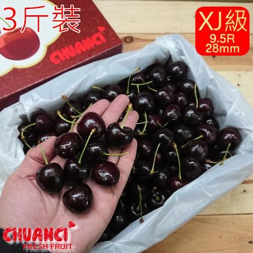 【川琪】智利XJ級櫻桃 (9.5R) 1盒1.8kg
