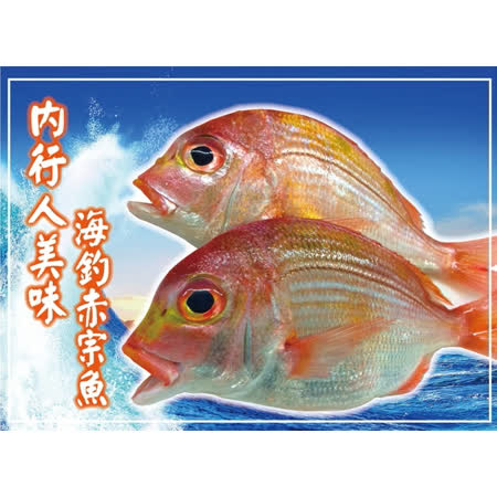 【海撰嚴選】 海釣赤宗魚250g