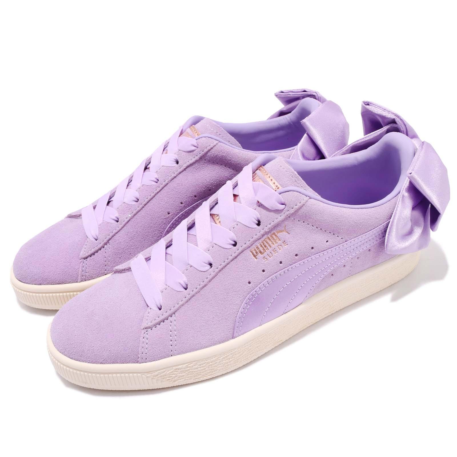 Puma 休閒鞋 Suede Bow 浪漫紫 女鞋 36731705