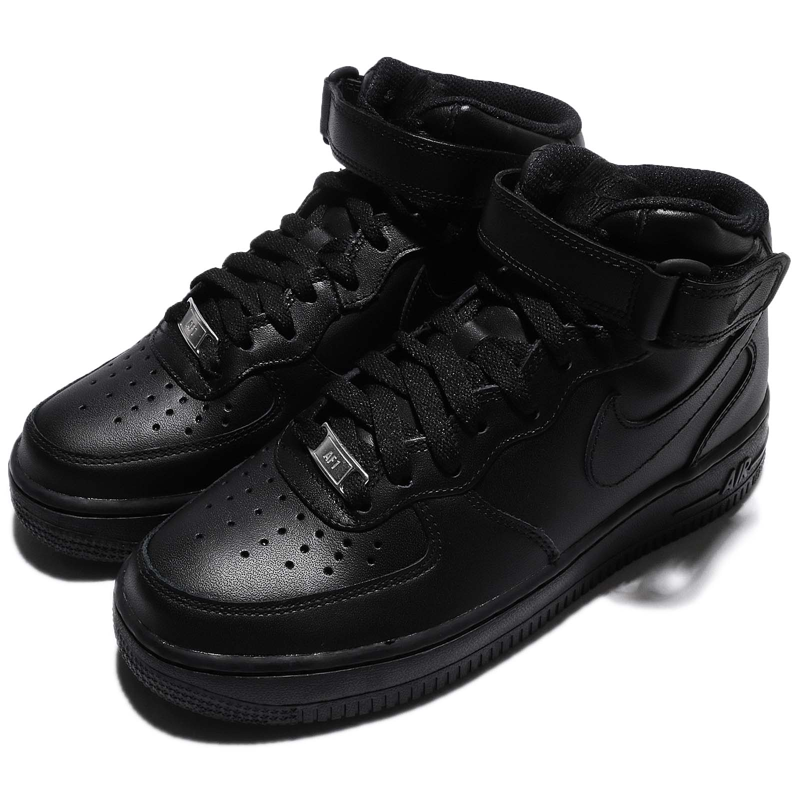 Nike 籃球鞋 Air Force 1 Mid 女鞋 366731-001