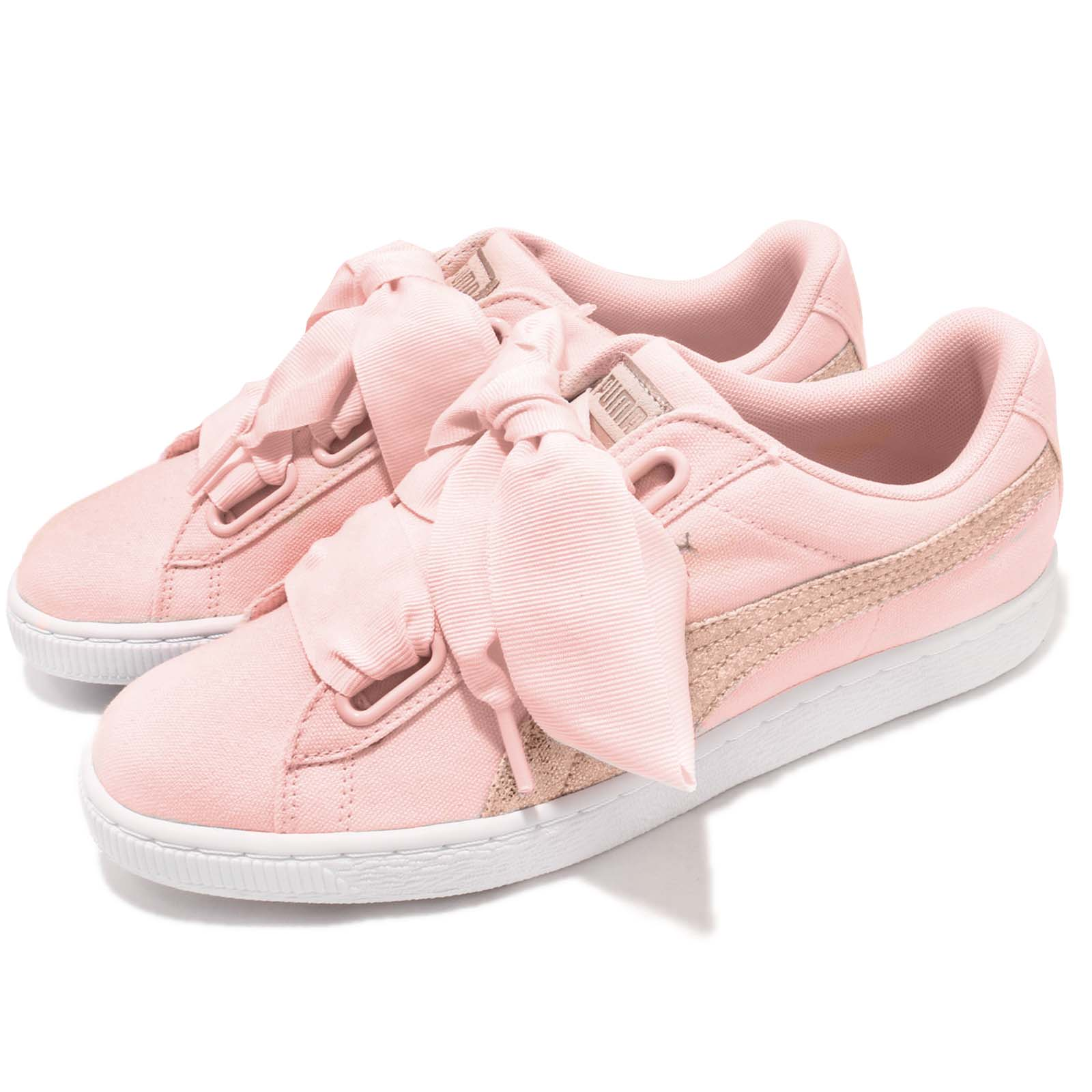Puma 休閒鞋 Basket Heart 女鞋 36649502