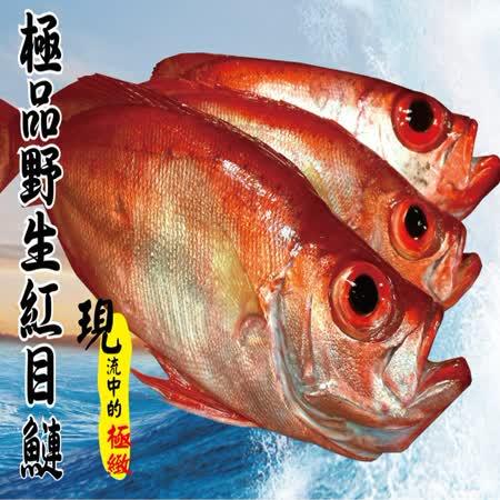【海撰嚴選】 野生紅目鰱300g