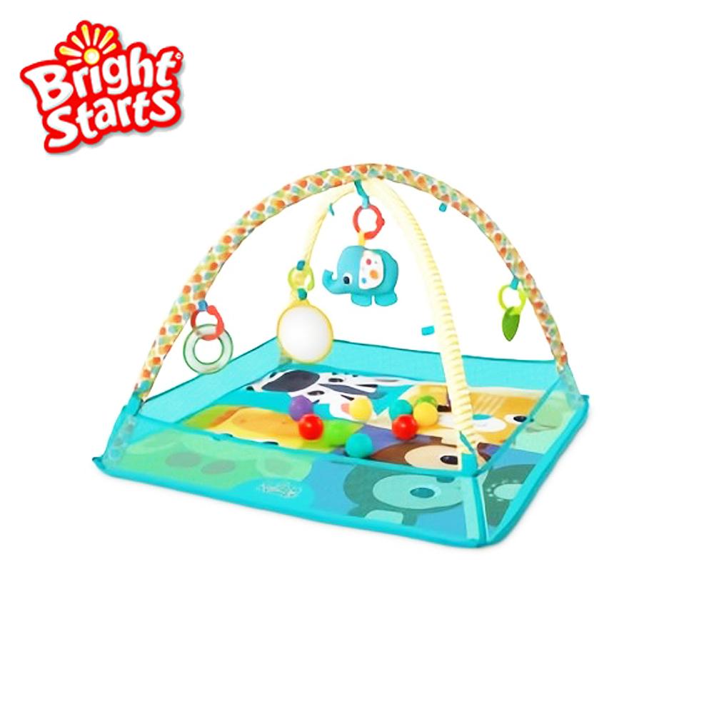 Kids II Bright Starts 動物樂園球池地墊