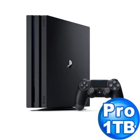 SONY PS4 Pro主機  7218系列 1TB黑+遊戲任選兩片