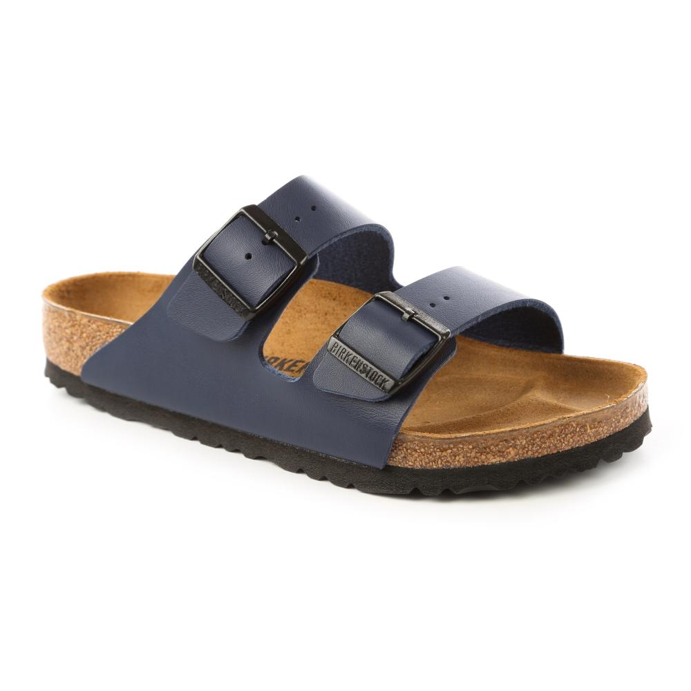 勃肯BIRKENSTOCK 051751。ARIZONA亞利桑那 經典二條拖鞋(藍)