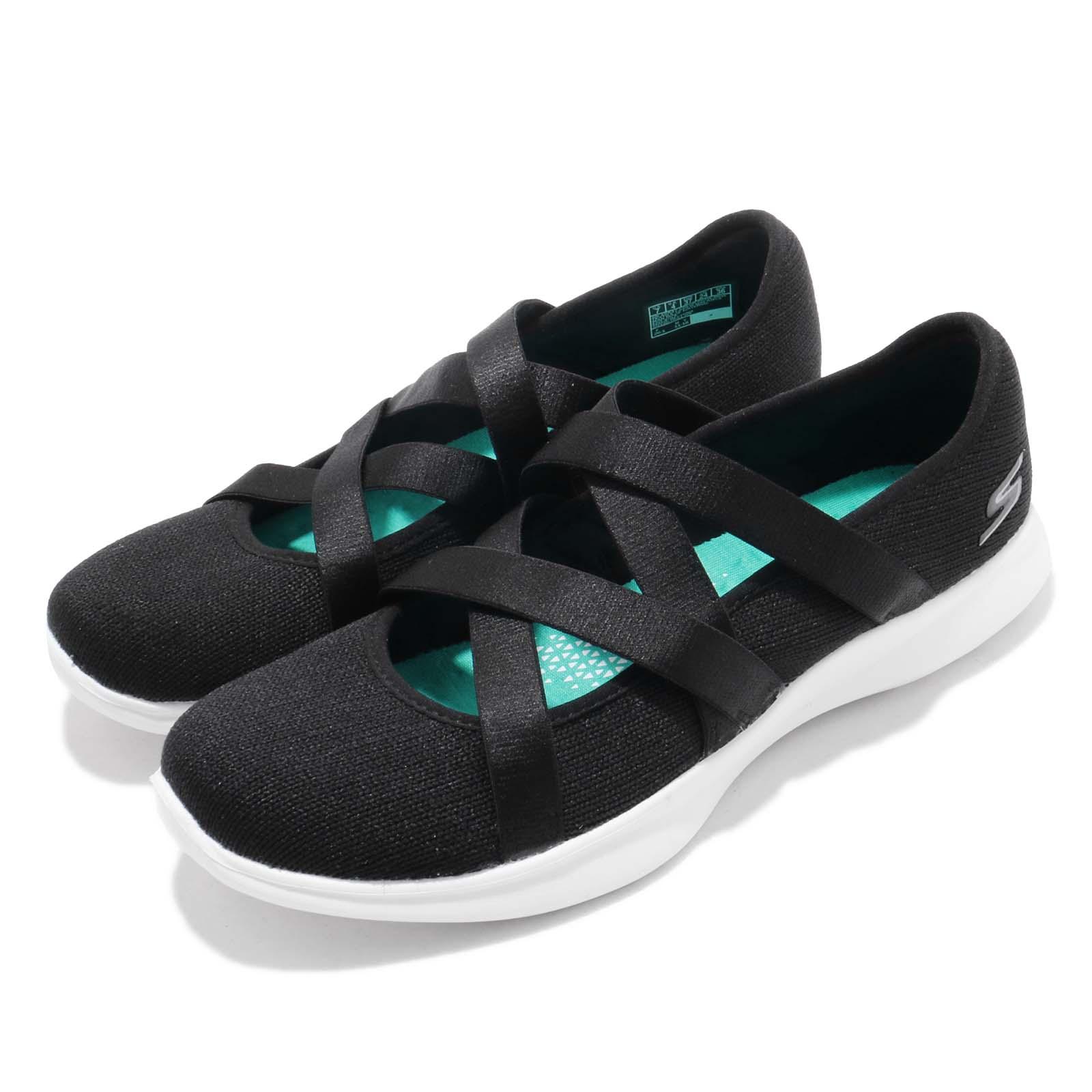 Skechers 健走鞋 Serene-Elation 女鞋 15847BKW