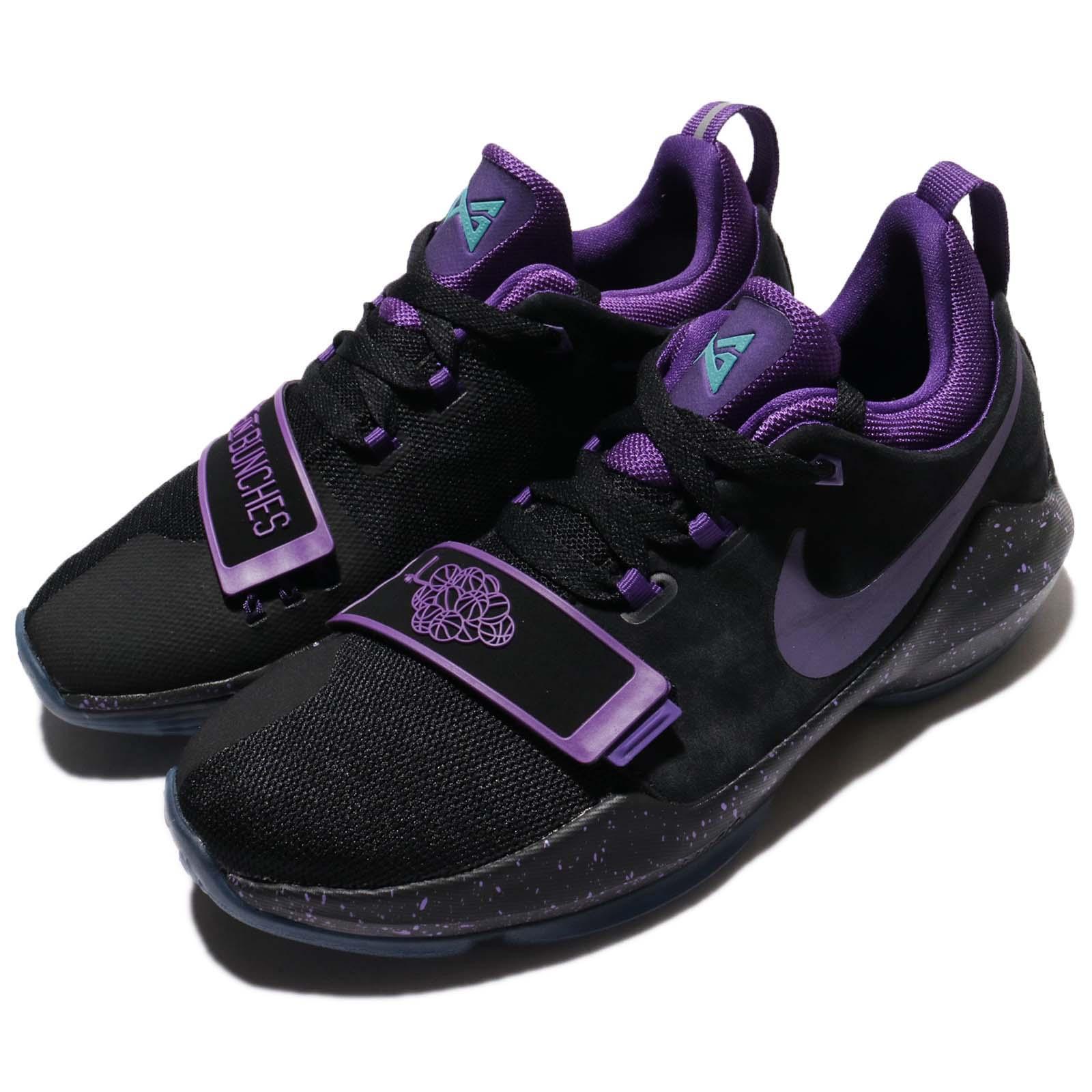 Nike 籃球鞋 PG 1 GS 運動 氣墊 女鞋 880304-097