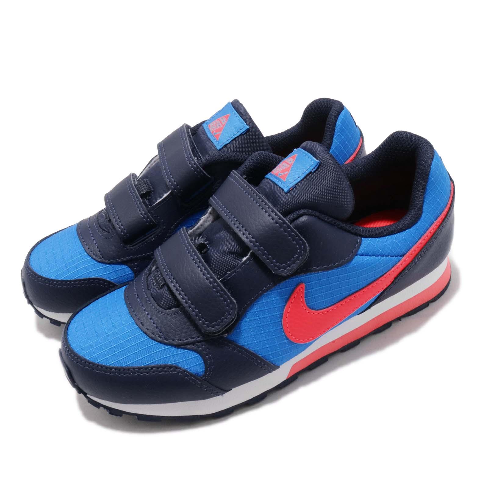 Nike 慢跑鞋 MD Runner 2 運動 童鞋 807317-412