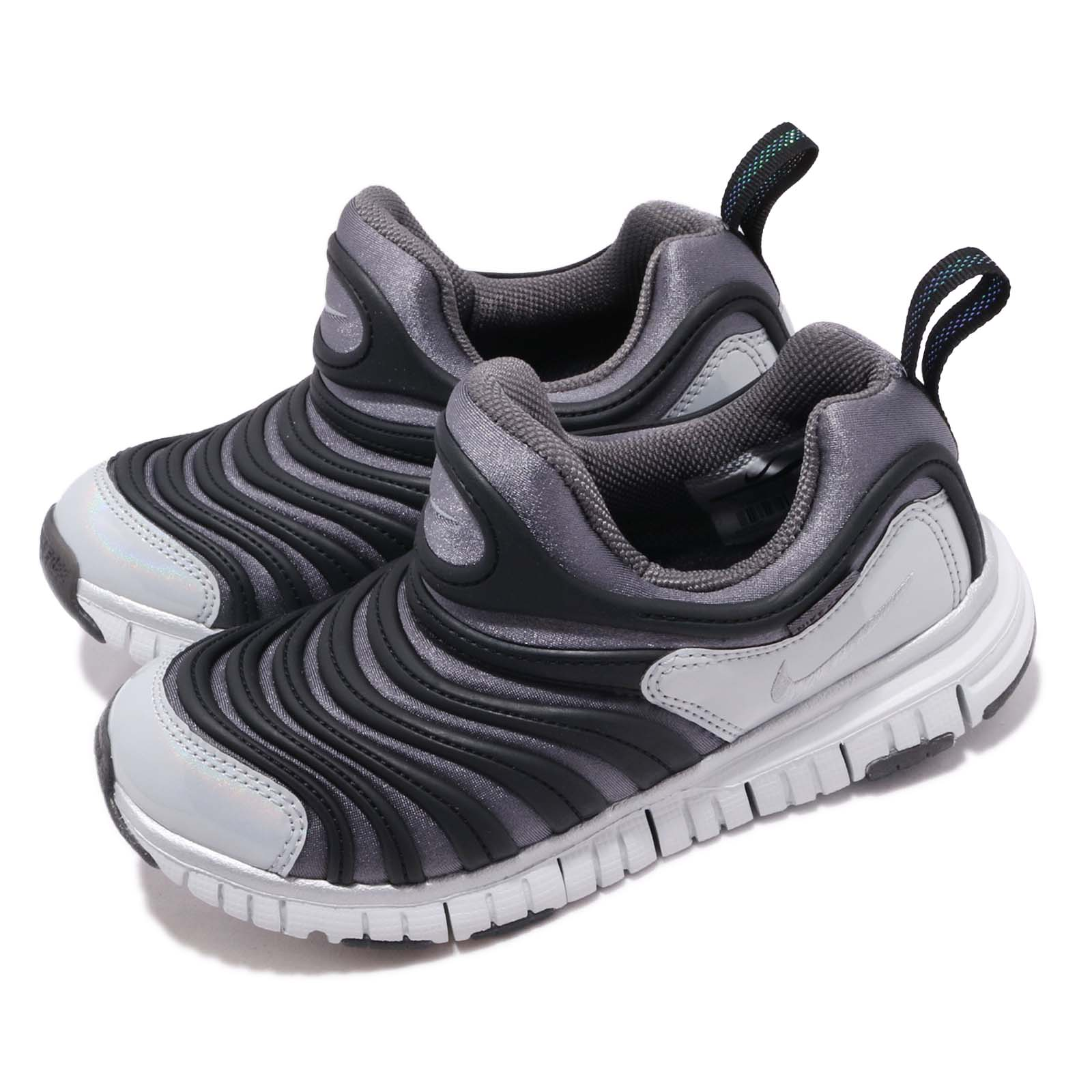 Nike 慢跑鞋 Dynamo Free Y2K 運動 童鞋 BQ7105-001