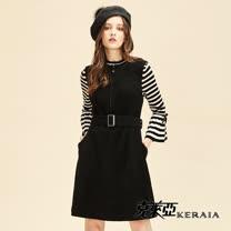 克萊亞<BR>100%羊毛背心短洋裝