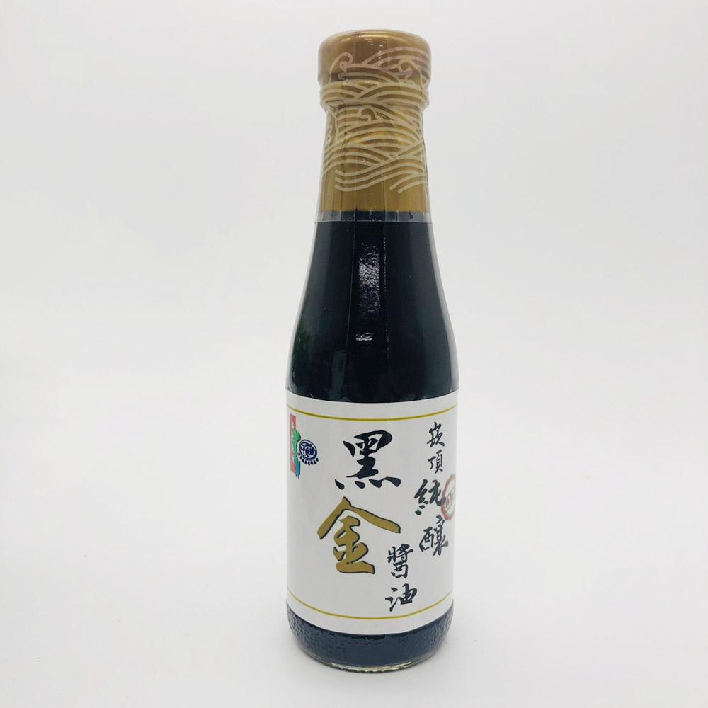 【農漁會超市中心】崁頂鄉農會純釀黑金醬油小瓶裝2瓶(每瓶220ml)(含運)
