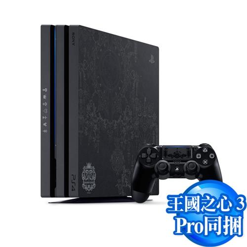 PS4 Pro主機1TB 王國之心3 同捆組-加送PS4 漫威蜘蛛人(Marvel's Spider-Man)–中文版(專)